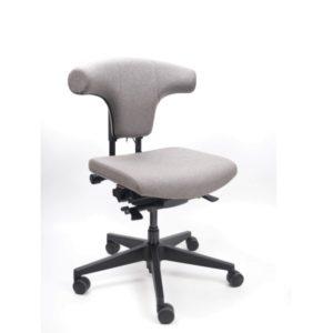 Bureaustoel Spindl One re use, in stof met armleggers